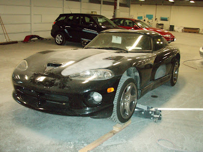 Dodge Viper bodywork by Almost Everything Autobody