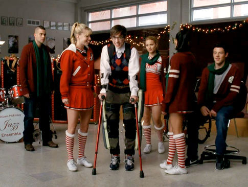 A Very Glee Christmas Brittany reveals that she still believes in Santa to everyoneu0027s shock especially her new boyfriend Artie.  sc 1 st  get addicted & GET ADDICTED: TV: Best TV Episodes of Fall 2010