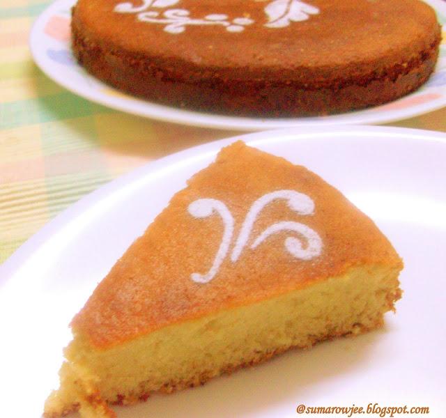 Sponge Cake Fine Dinning Dessert