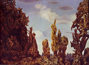 'The Fascinating Cypress', Max Ernst, 1939