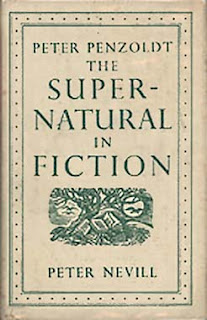 Peter Penzoldt, The Supernatural in Fiction, 1952, copertina