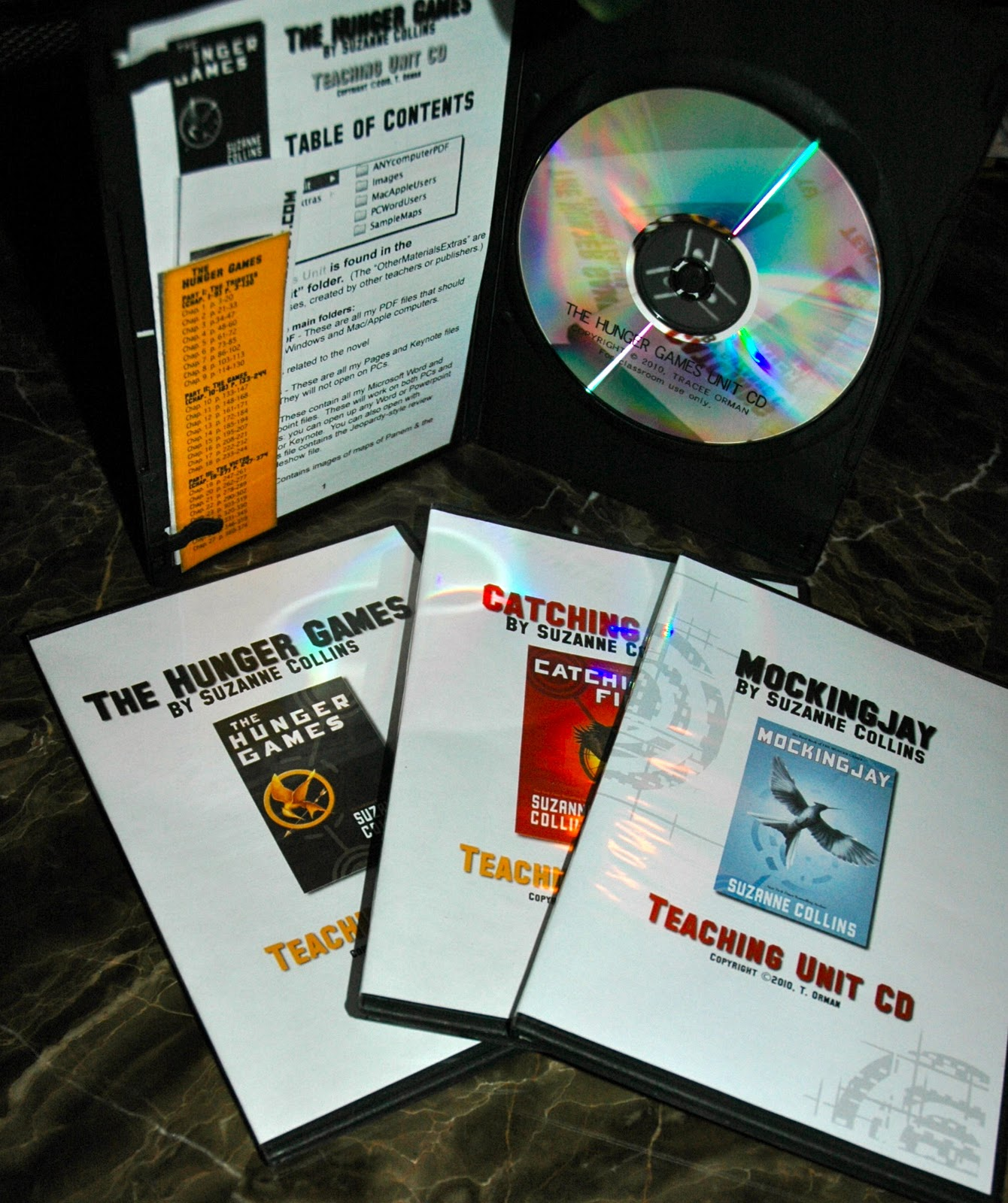 Hunger Games Lessons Hunger Games Trilogy Teaching Unit Cds