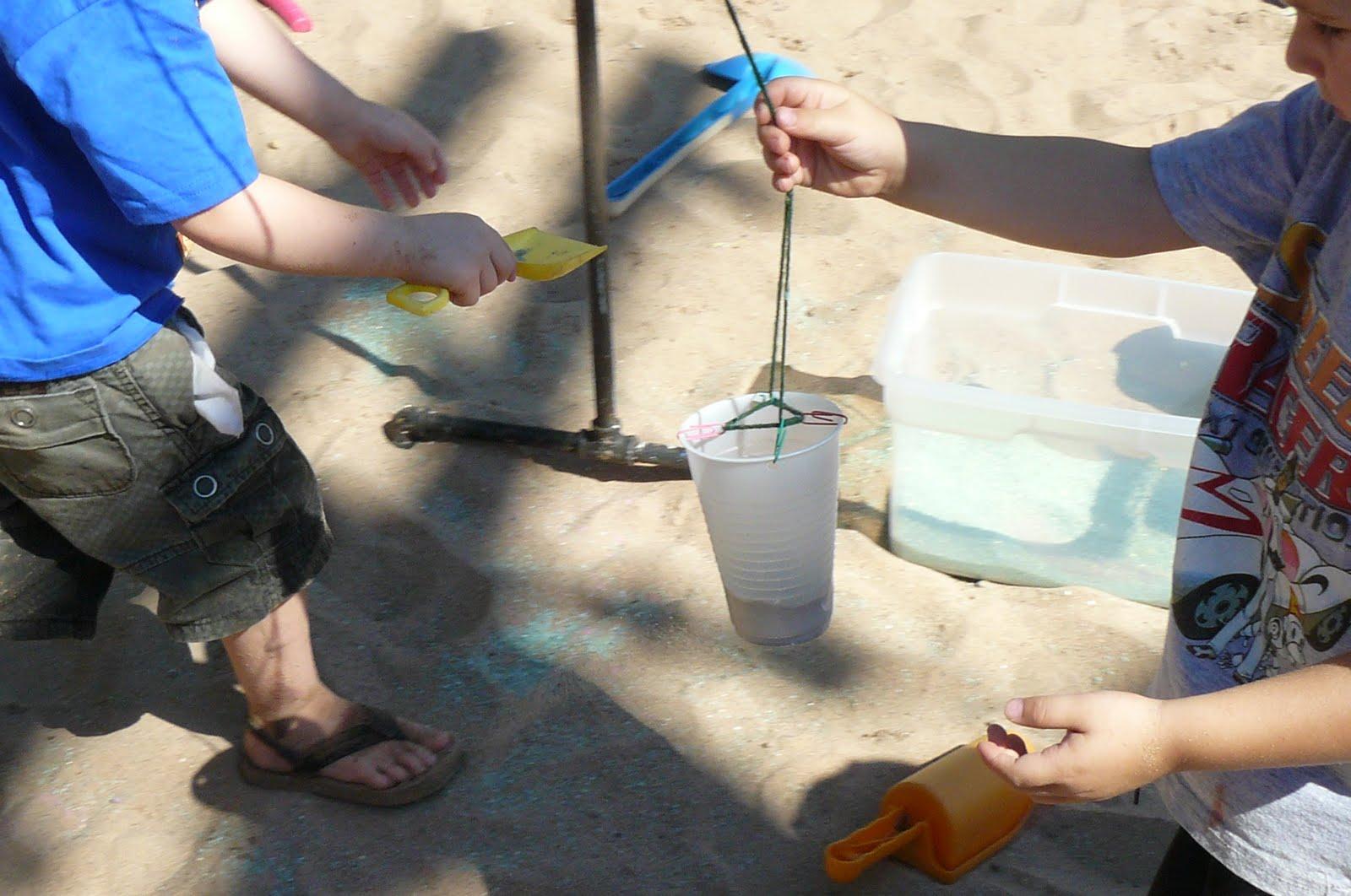 Sandbox Pendulum