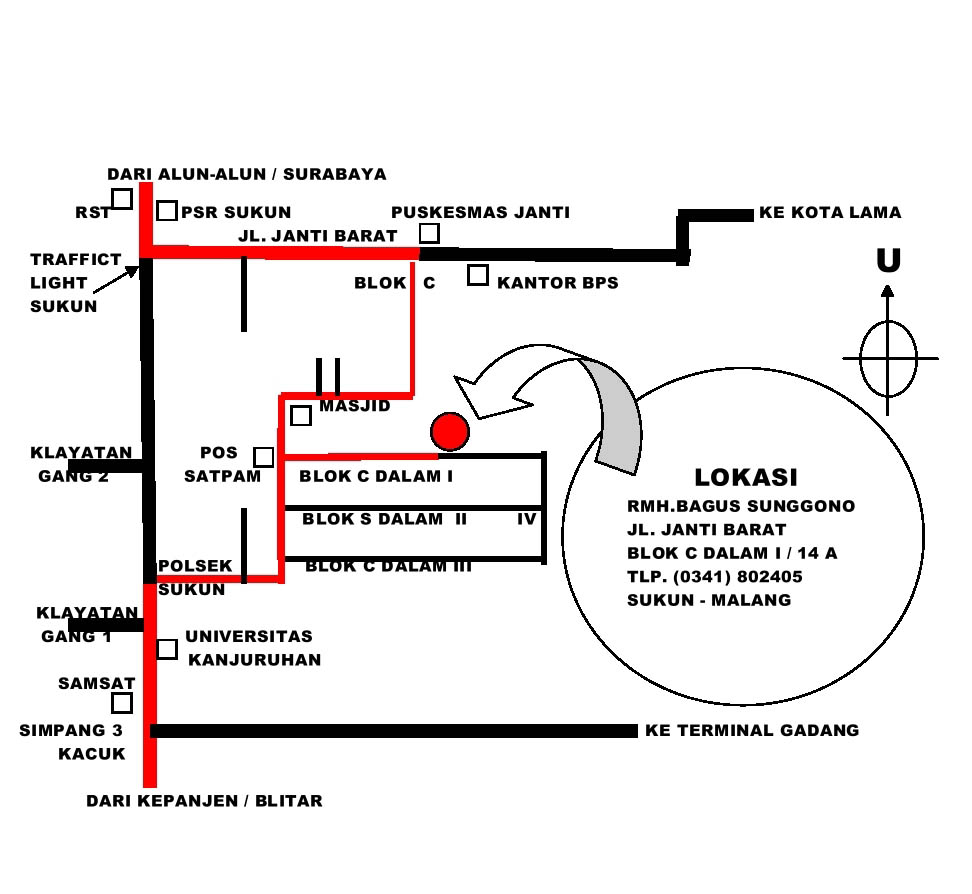 Image Result For Denah Lokasi