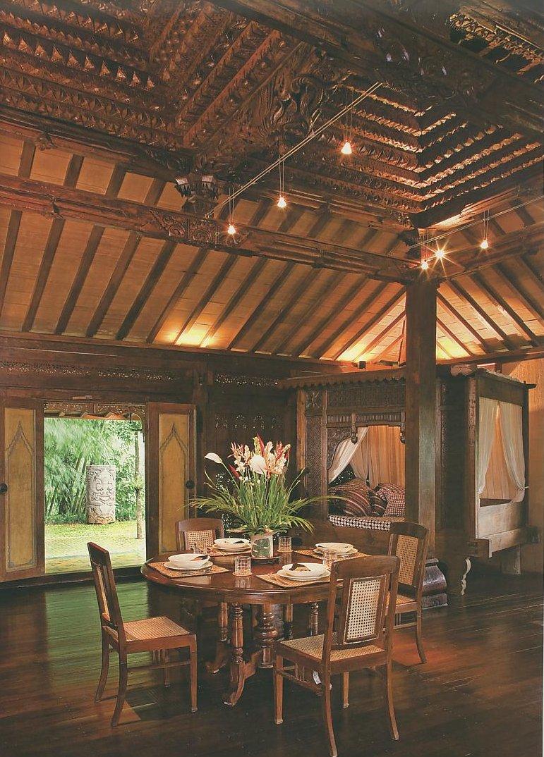Home interior design joglo home modern javanese - Modern house interior design ...