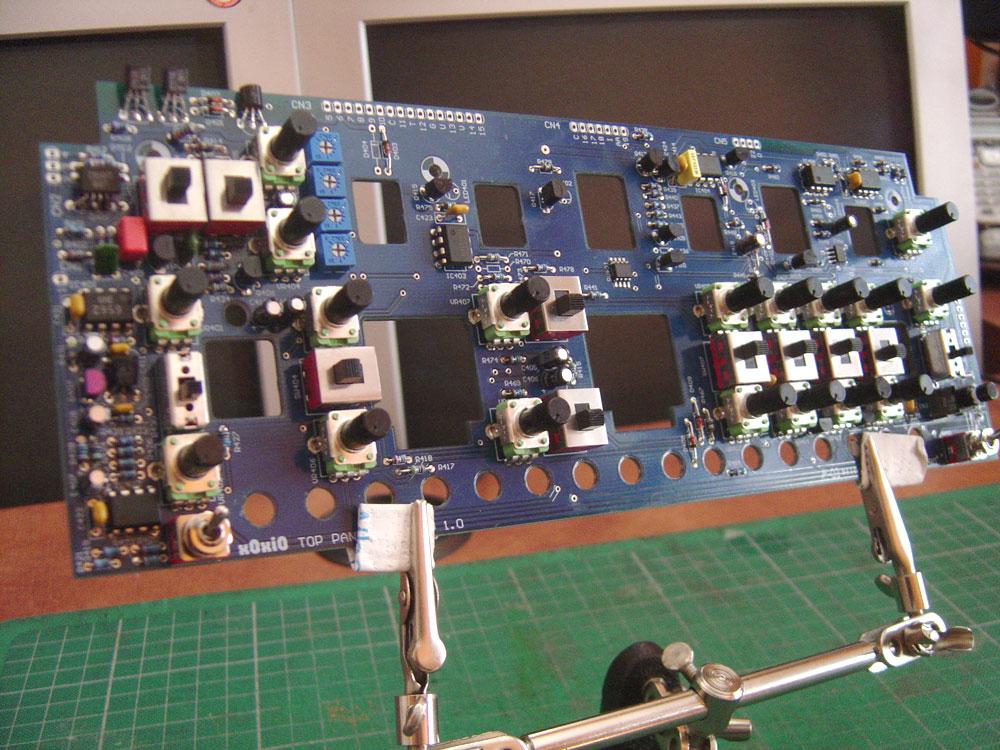 metro electro: x0xi0 #330-133 5 : Top Panel 'Full Kit' Mod