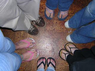 Feet, feet & more feet