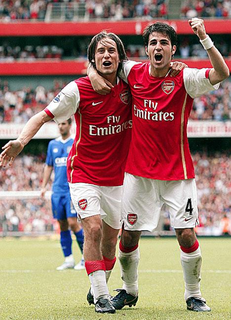 newest 8b036 d951f The Modern Gooner: An Arsenal Blog: Tomas Rosicky: Arsenal's ...