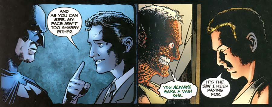Harvey Dent Comics