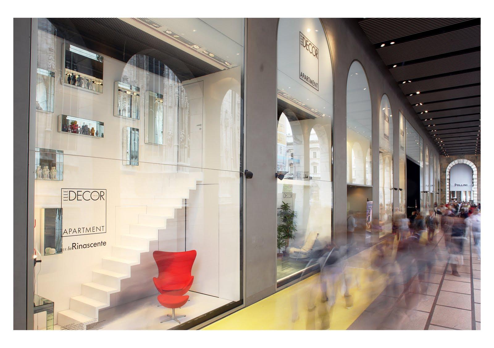Elle decor apartment at rinascente milan design your life for Elle decor interni