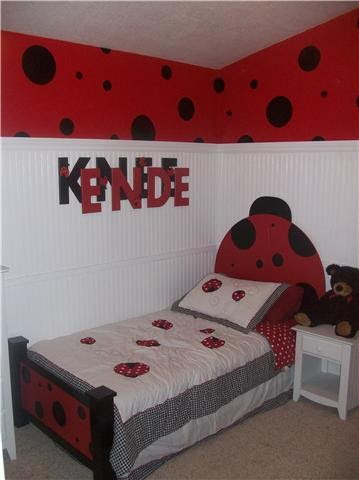 From Scrap To That Lady Bug Bed
