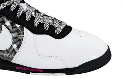 newest collection 798e0 0d0cb The shoe also features patterned laces that seem to help drag the optical  design across the front of the shoe. A clean white toe and sections of black  bring ...