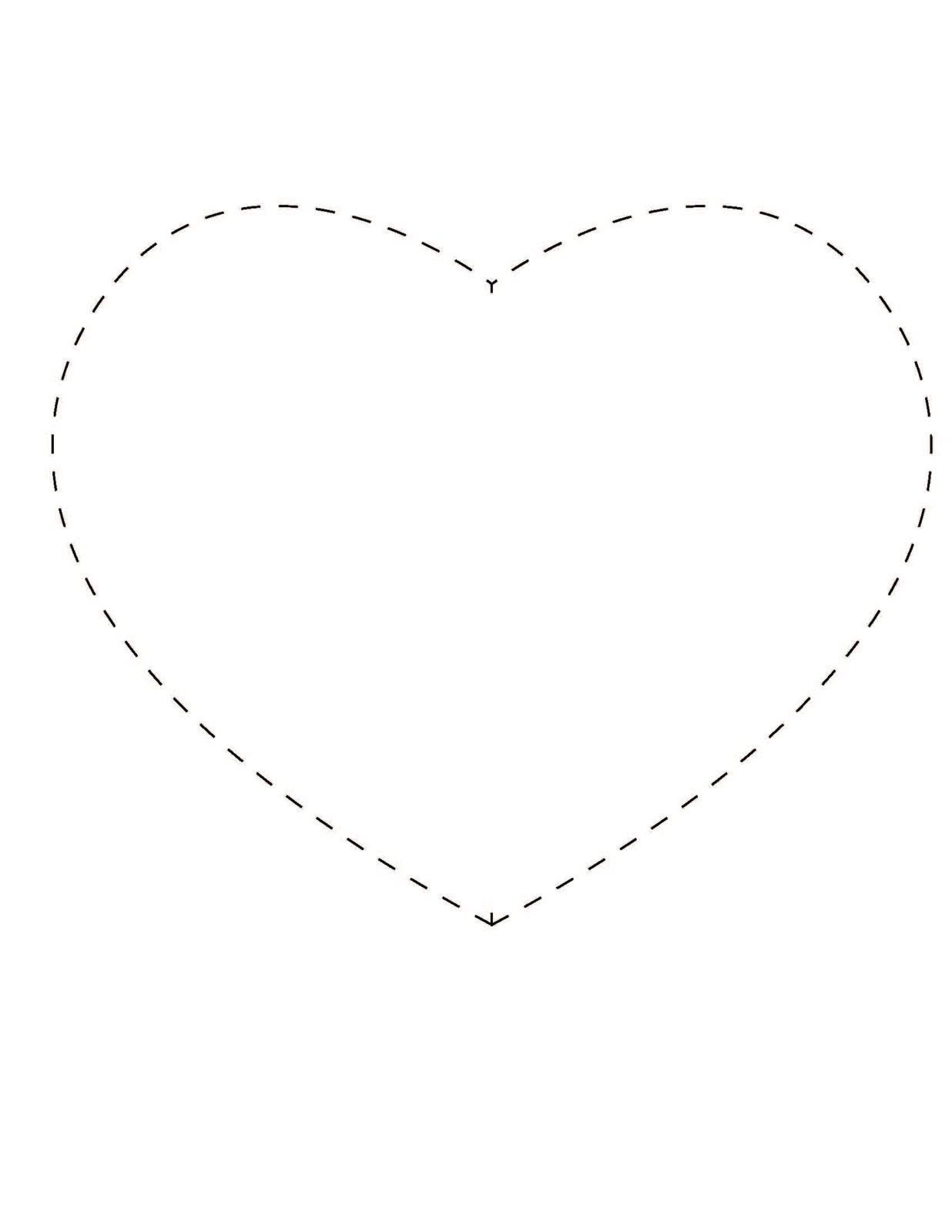 Search Results For Heart Shape Printable Calendar