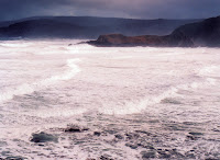 South Cape Bay following storm, mid-2005