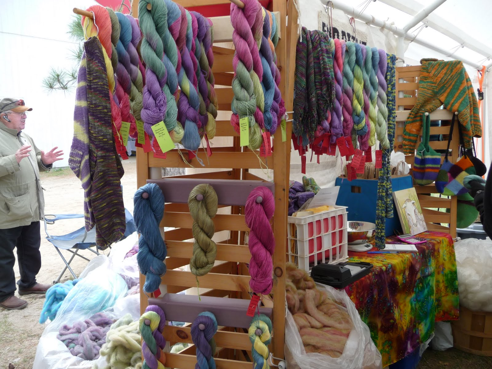 Yarns With A Twist: A Fine Day at New Hampshire Sheep & Wool