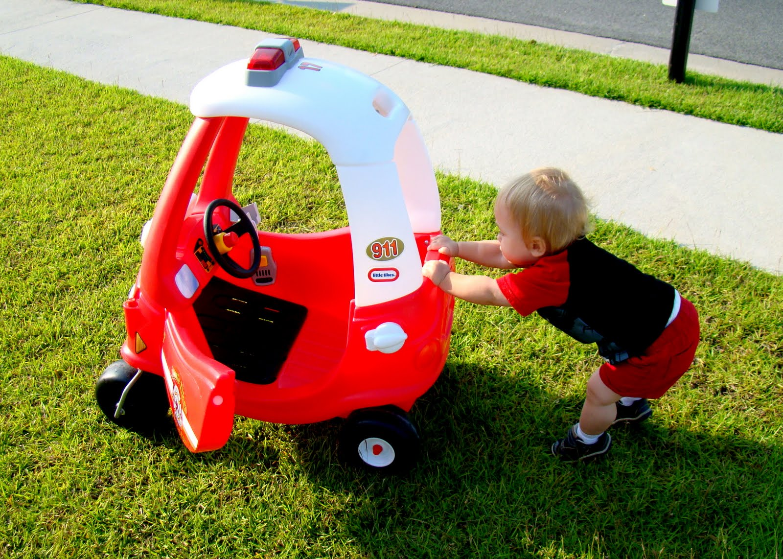 Front Yard Toys The Journey Of Parenthood