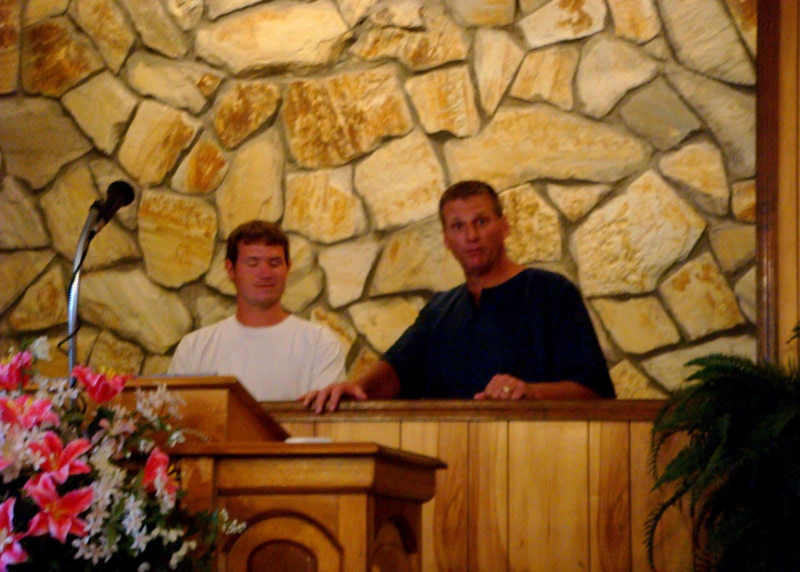 Jordan's Baptism!