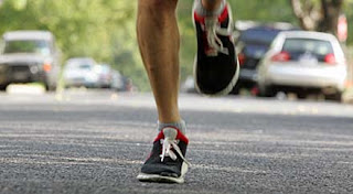 Running or playing surfaces- Athletes who train on asphalt or cement ...