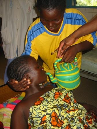 female circumcision scar