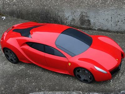 Sweet Car Ferrari Sports Car Fsx Concept Four Door Supercar Sedan