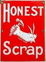 Honest Scrap Award  - Food Blog - Food Bloggers