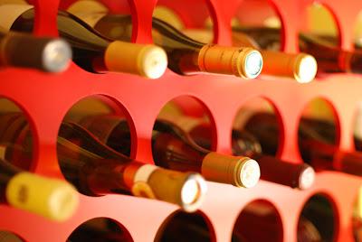 Aging Wine Bottles in Wine Cellars or Wine Storages
