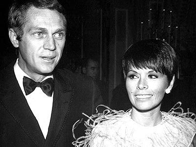 Image result for young steve mcqueen and neile adams