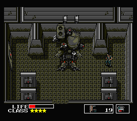 Hardcore Gaming 101 - Blog: Metal Gear - MSX and NES Comparison