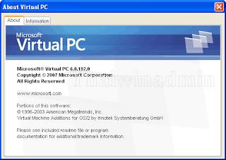 About Virtual PC