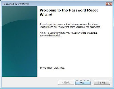 Welcome to Password Reset Wizard