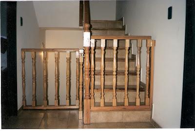 Escaleras y barandas puertas para escaleras - Puertas de escalera ...