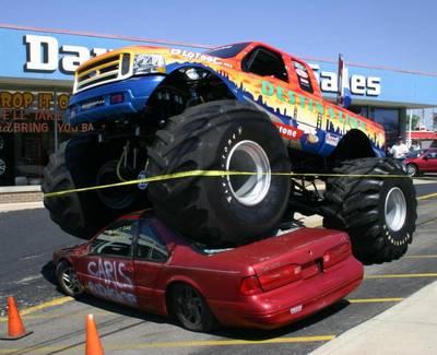 Monster Truck Cars Show Pforzheim