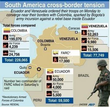 Resultado de imagen de guerra colombia venezuela