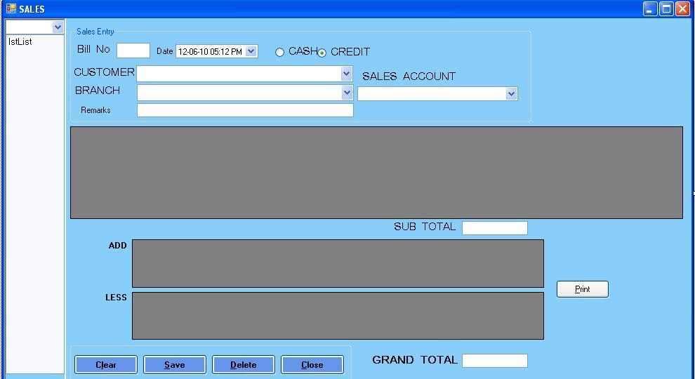 SALES+BILL+FORM Vb Net Form Examples on html5 form examples, javascript form examples, vba form examples,