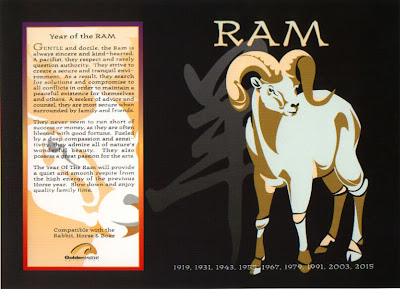 The Chinese Astrology Chinese Horoscope Signs The Ram Or Goat