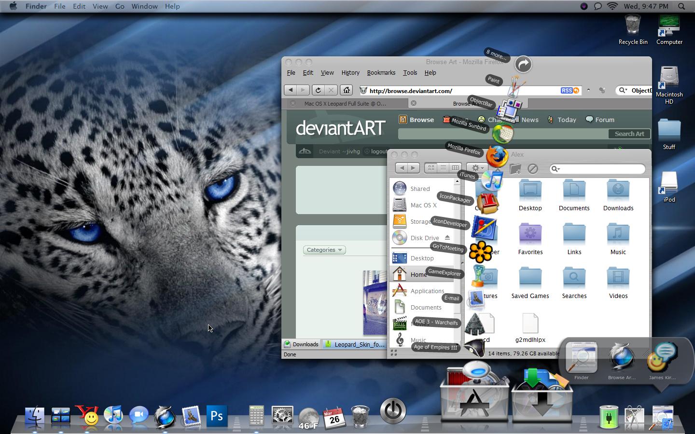 Mac os x leopard for pc intel laptop