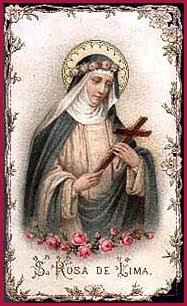 Himno A Santa Rosa De Lima Oración Y Vida De Santa Rosa Recrear