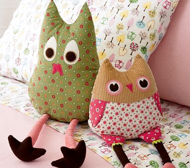 How Cute Are These Owls From Pottery Barn Kids I Took One