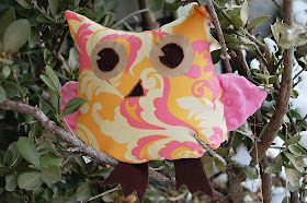 easy free stuffed owl pattern