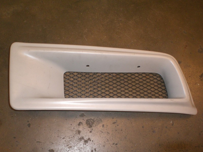 Performance part: nissan skyline GT-R34 oil cooler air duct