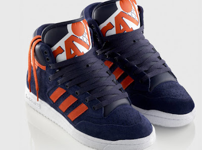 hot sale online 7520c 9f761 Adidas has once again created a special makeup of one of their shoes with  NBA teams. Here we have the Adidas Originals Centennial Mid Eastern  Conference ...