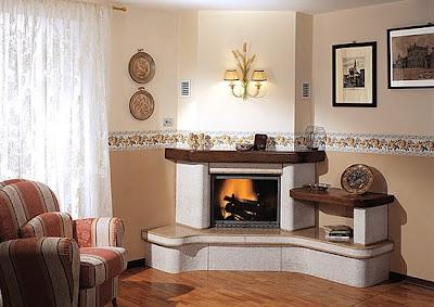 29 caminetti per tutti i gusti shabby chic interiors for Caminetti finti d arredo