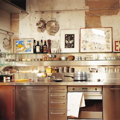 Cucine personali shabby chic interiors for Ikea mensole acciaio