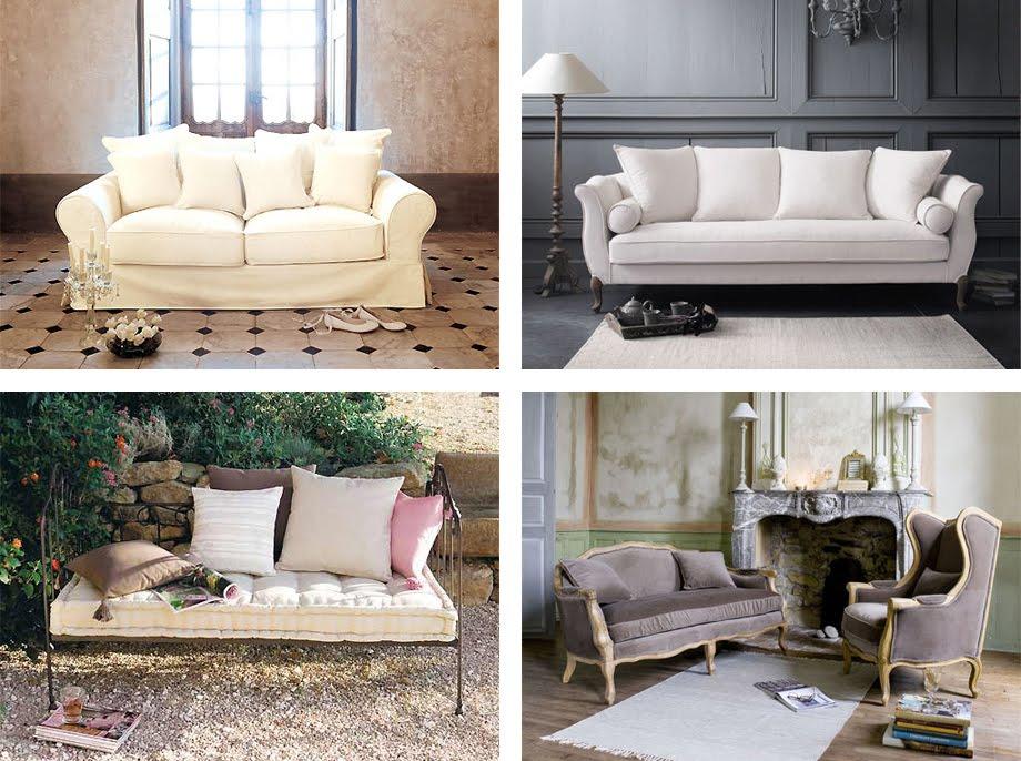 Il divano shabby chic interiors for Salotti bellissimi