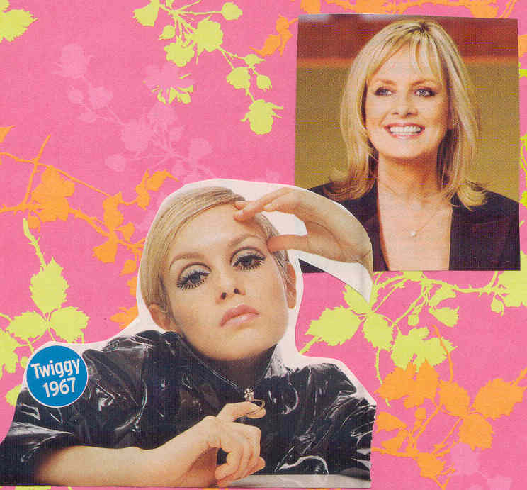 gold country girls: Then And Now #67 - Twiggy
