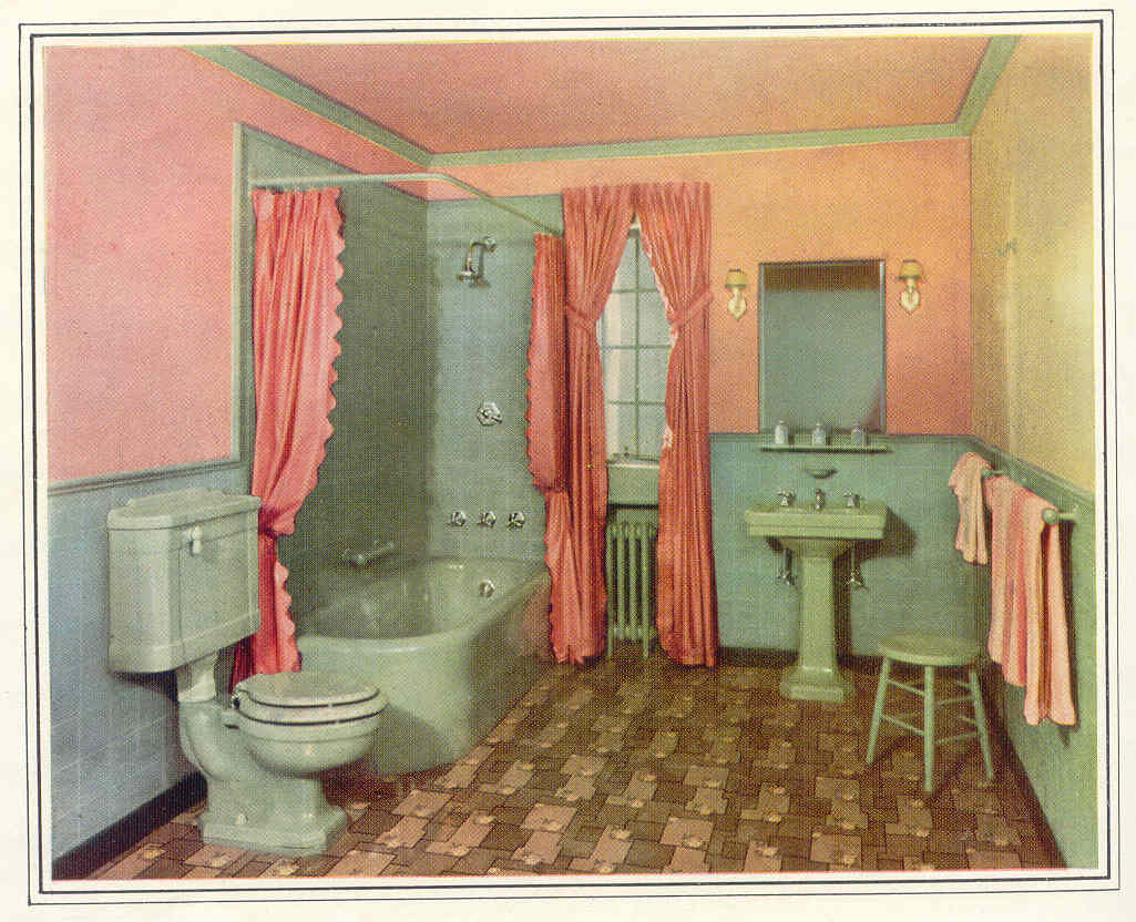 gold country girls: Great Old Bathrooms