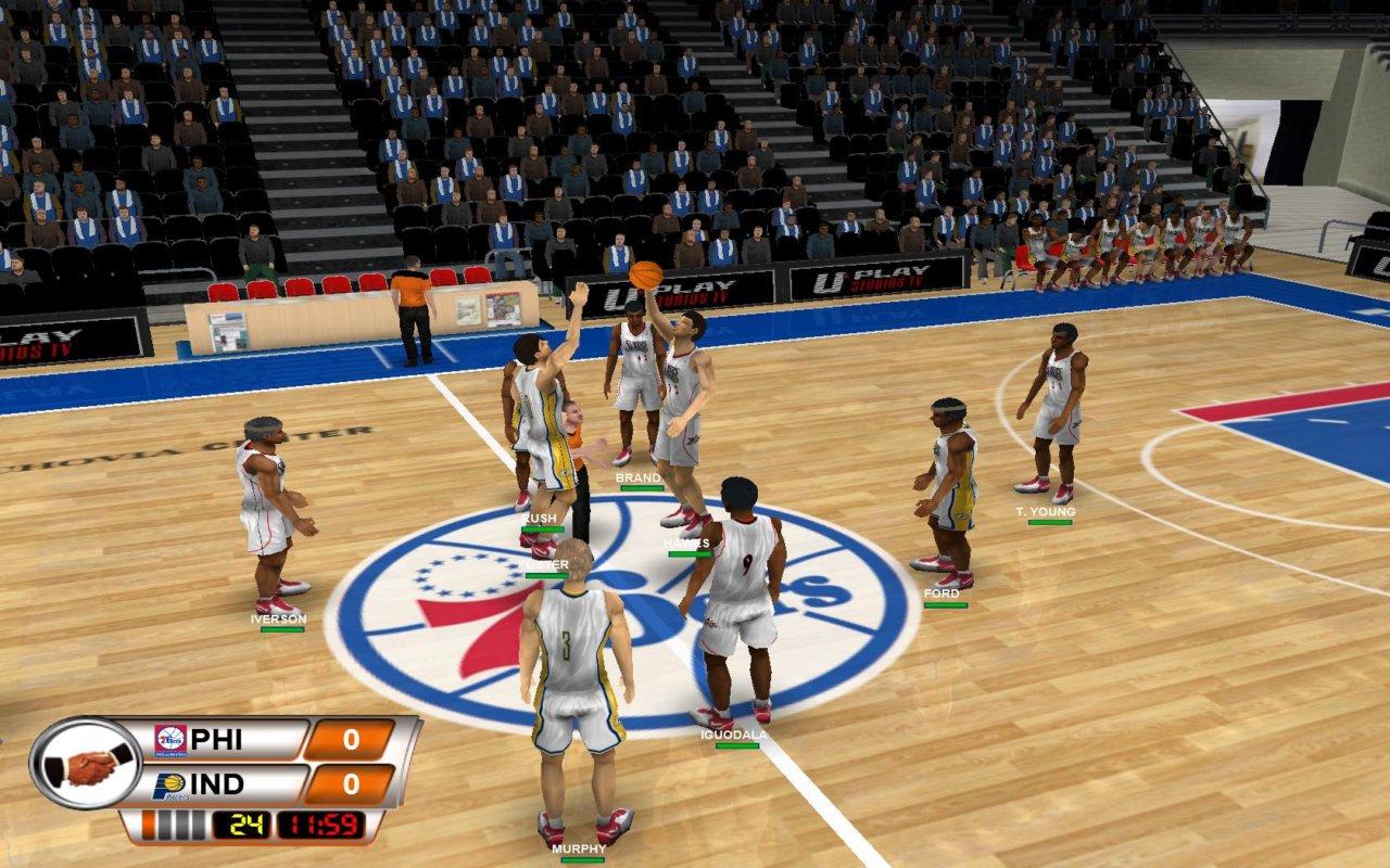 لعشاق كرة السلة لعبة روعة جدا International Basket Manager