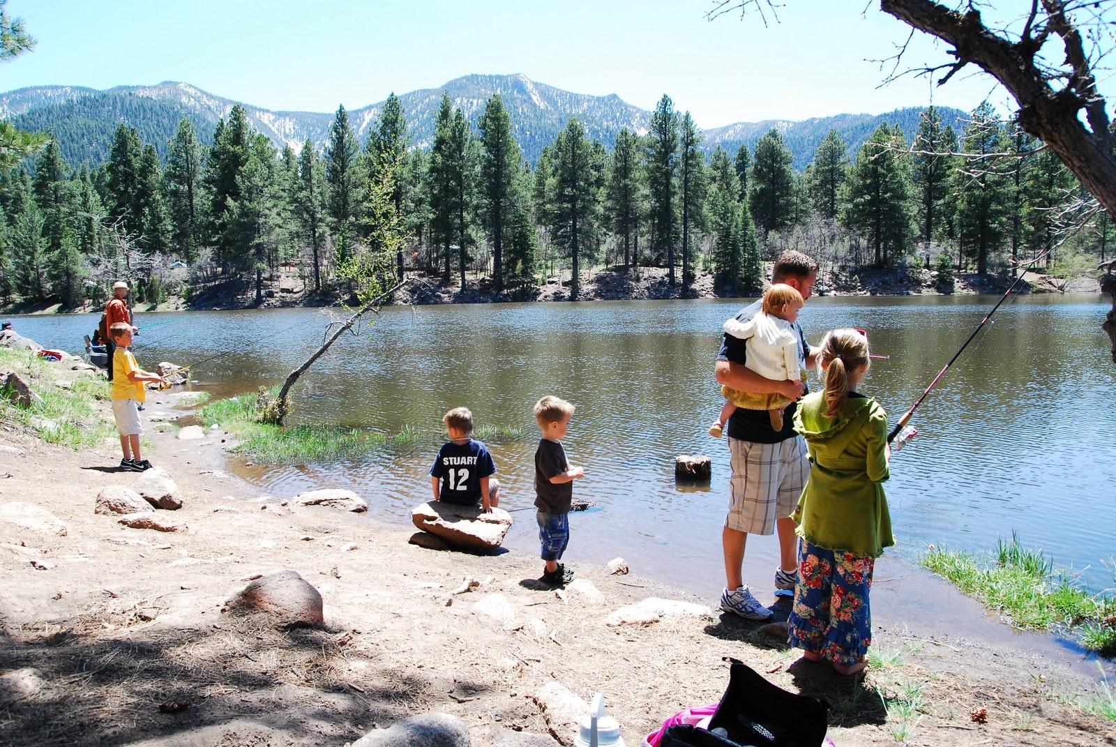 Neva Stuart Mix: Fishing at Pine Valley