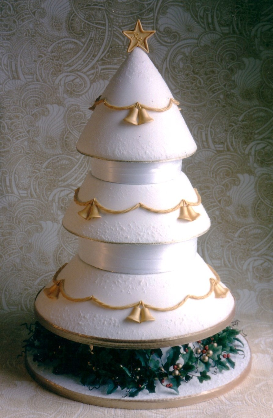 wedding cake christmas tree ornament tree wedding cakes wedding 22199
