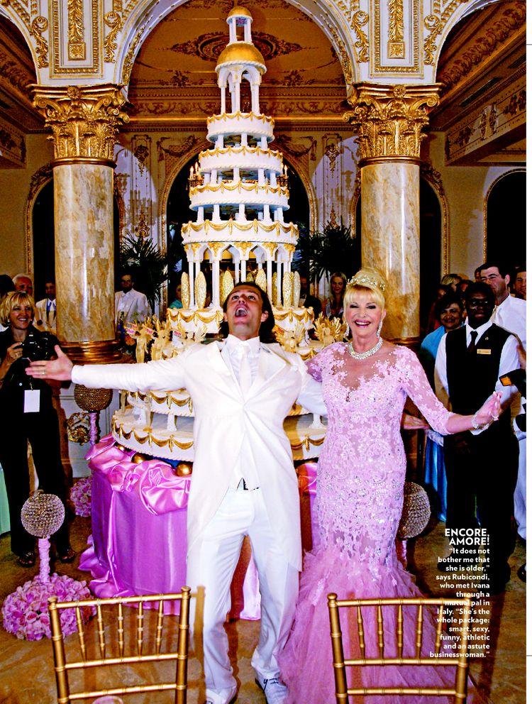 Trump Wedding Cakes
